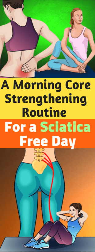 A morning core-strengthening routine for a sciatica-free day – healthyunite #coreworkouts