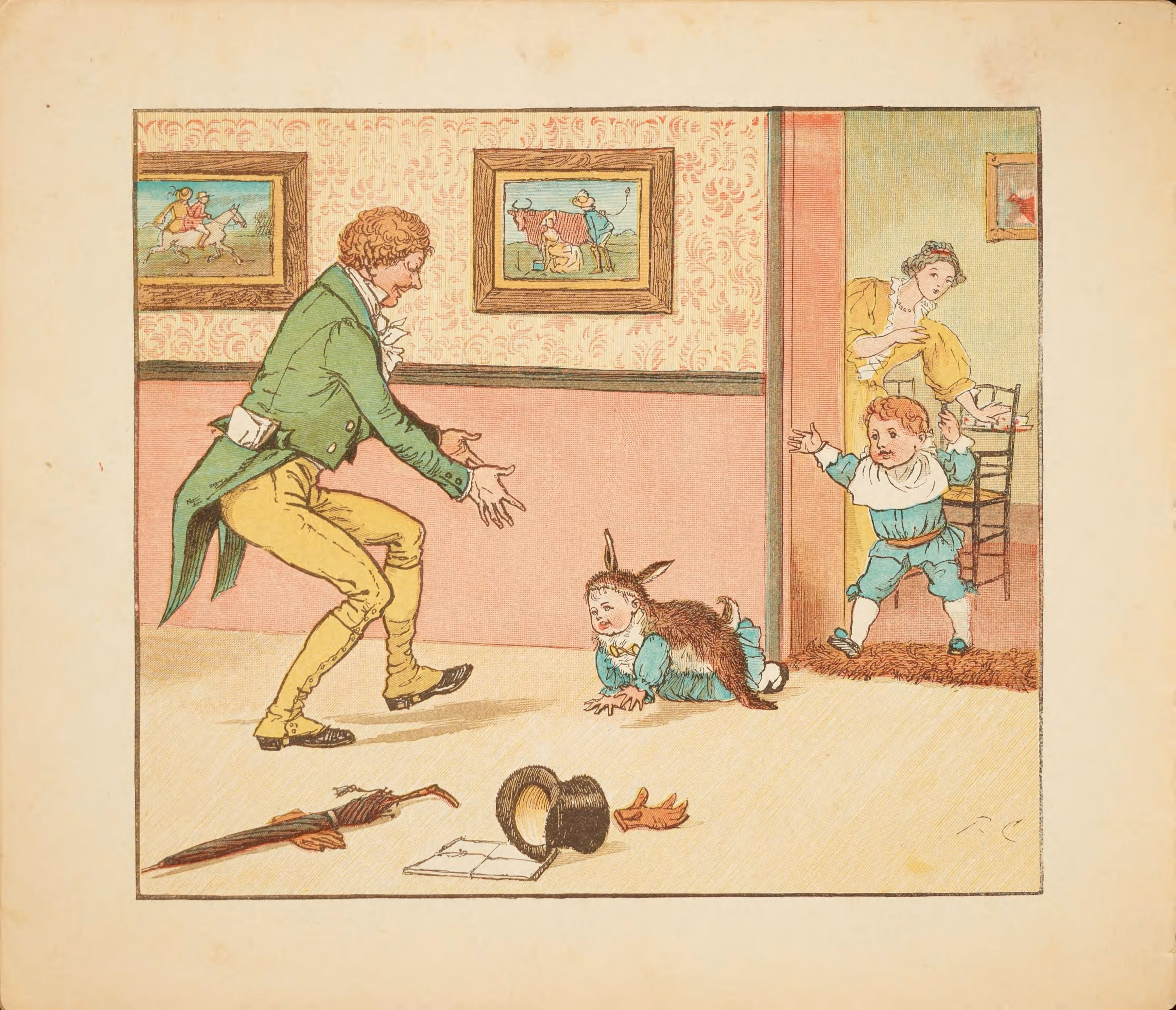 Posts About Public Domain Childrens Books On Free Vintage Illustrations Childrens Books Illustrations Caldecott Vintage Illustration