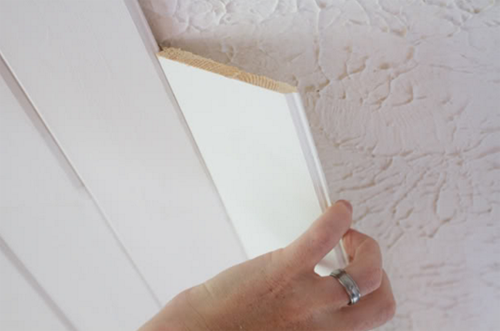 Popcorn ceilings are a thing of the past With these two tricks