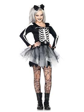 Teen Sassy Skeleton Costume My Style Pinterest Halloween