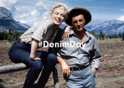 We're celebrating all things denim on anothermag.com today! First up, our cinematic denim heroes:http://bit.ly/1IJ6H1G