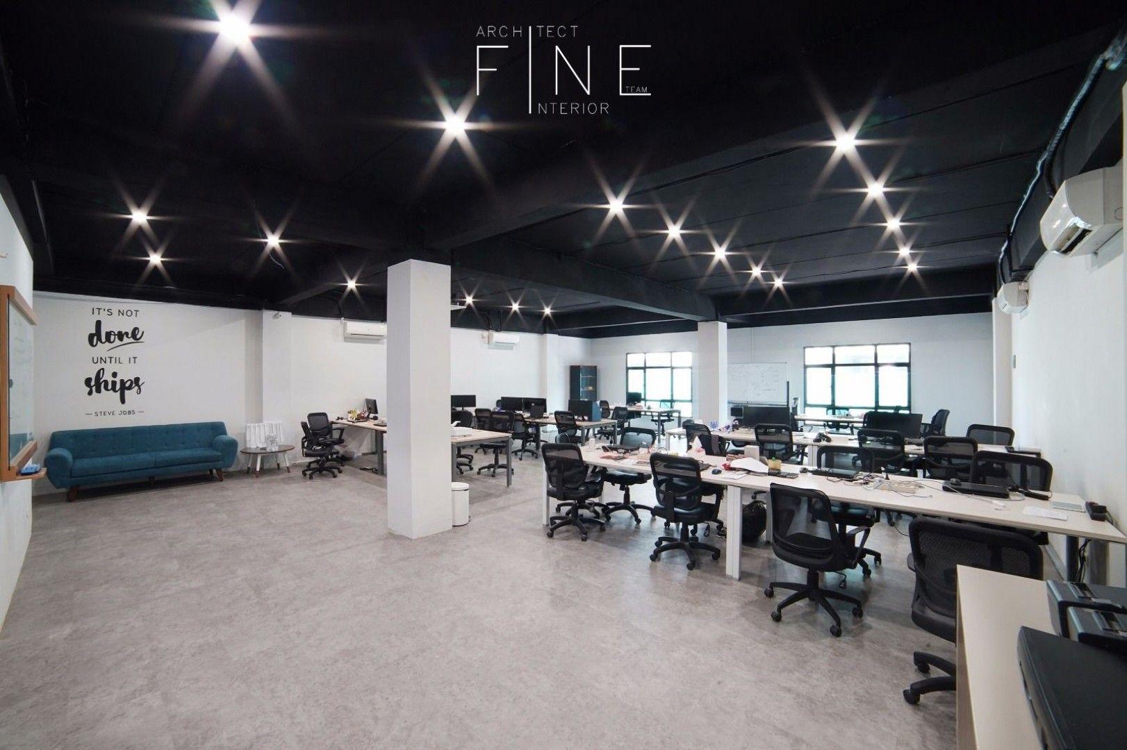 industrial design office. Industrial, Modern | Working Space MOKA Pos Office Jakarta Barat Fine Team Industrial Design