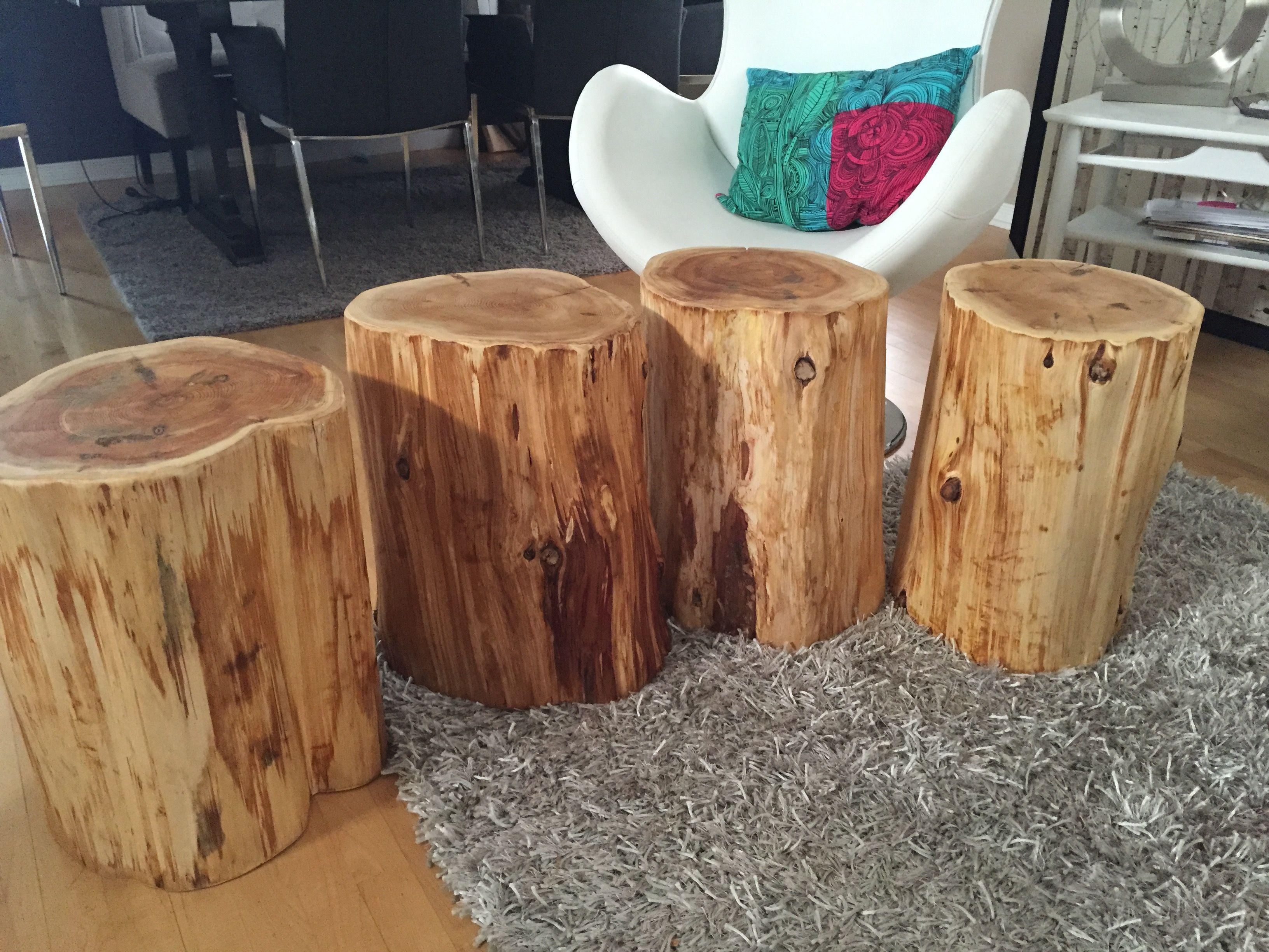 Grau Couchtisch Stump Möbel Baum Stamm Tisch Zypressen