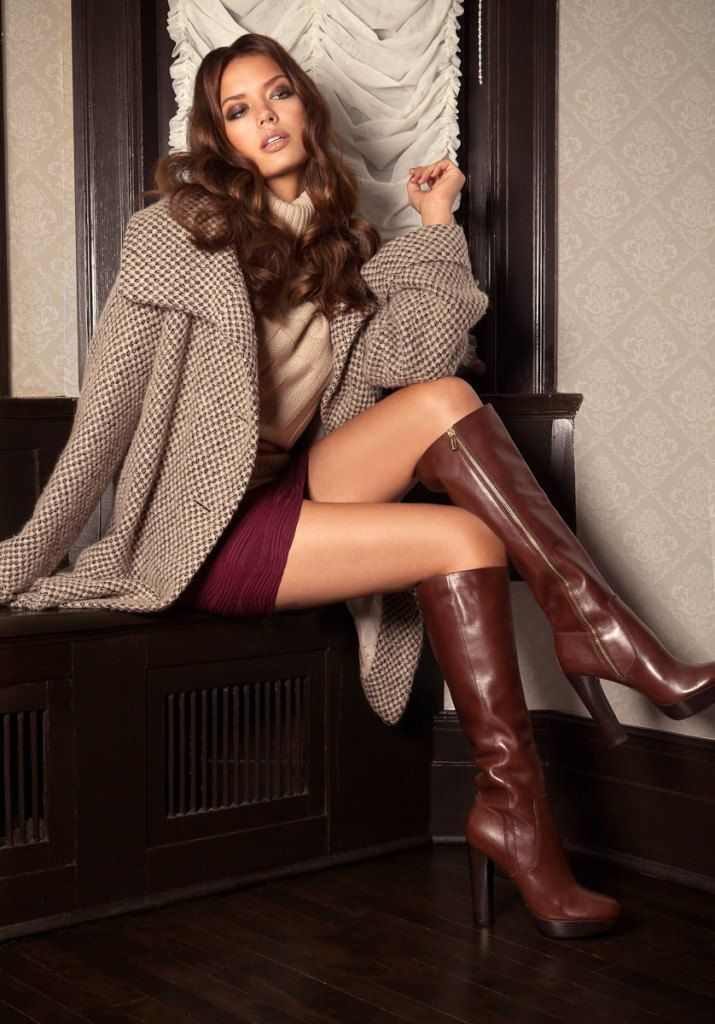 Over knee boots, Knee high boot and High boots on Pinterest