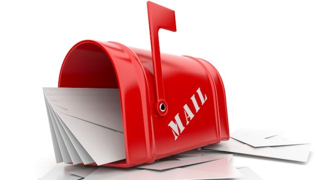 Send a letter to someone you know . Label software