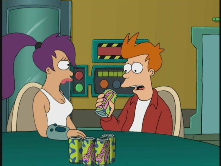 1x13 Fry & The Slurm Factory | costumes | Futurama, Sci fi