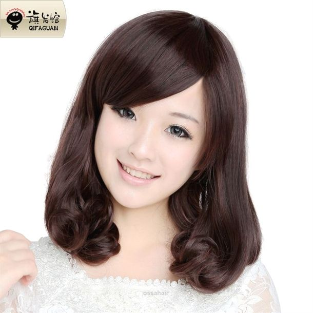 Hairstyles For Square Faces Over 40: Wonderful Pear Head Wig Short Hair Wig Short Hair New