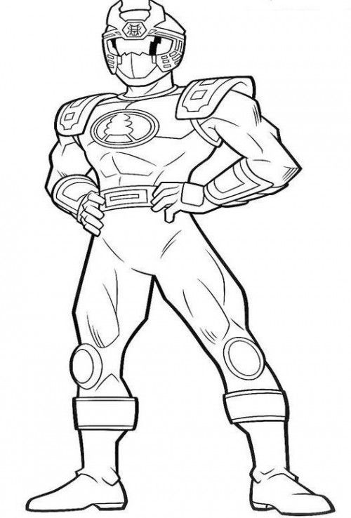 Power Rangers Ninja Steel Pages Coloring Pages