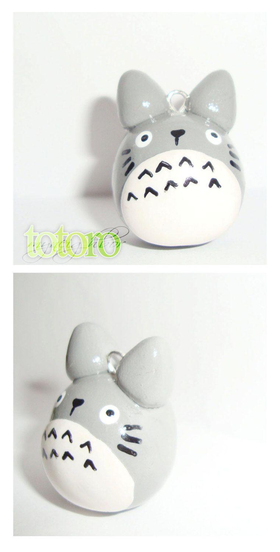 Image of: Kawaii Polymer Totoro Polymer Clay Charm Cute Kawaii Animal By Cutieexplosion 875 Demilked Totoro Polymer Clay Charm Cute Kawaii Animal By Cutieexplosion