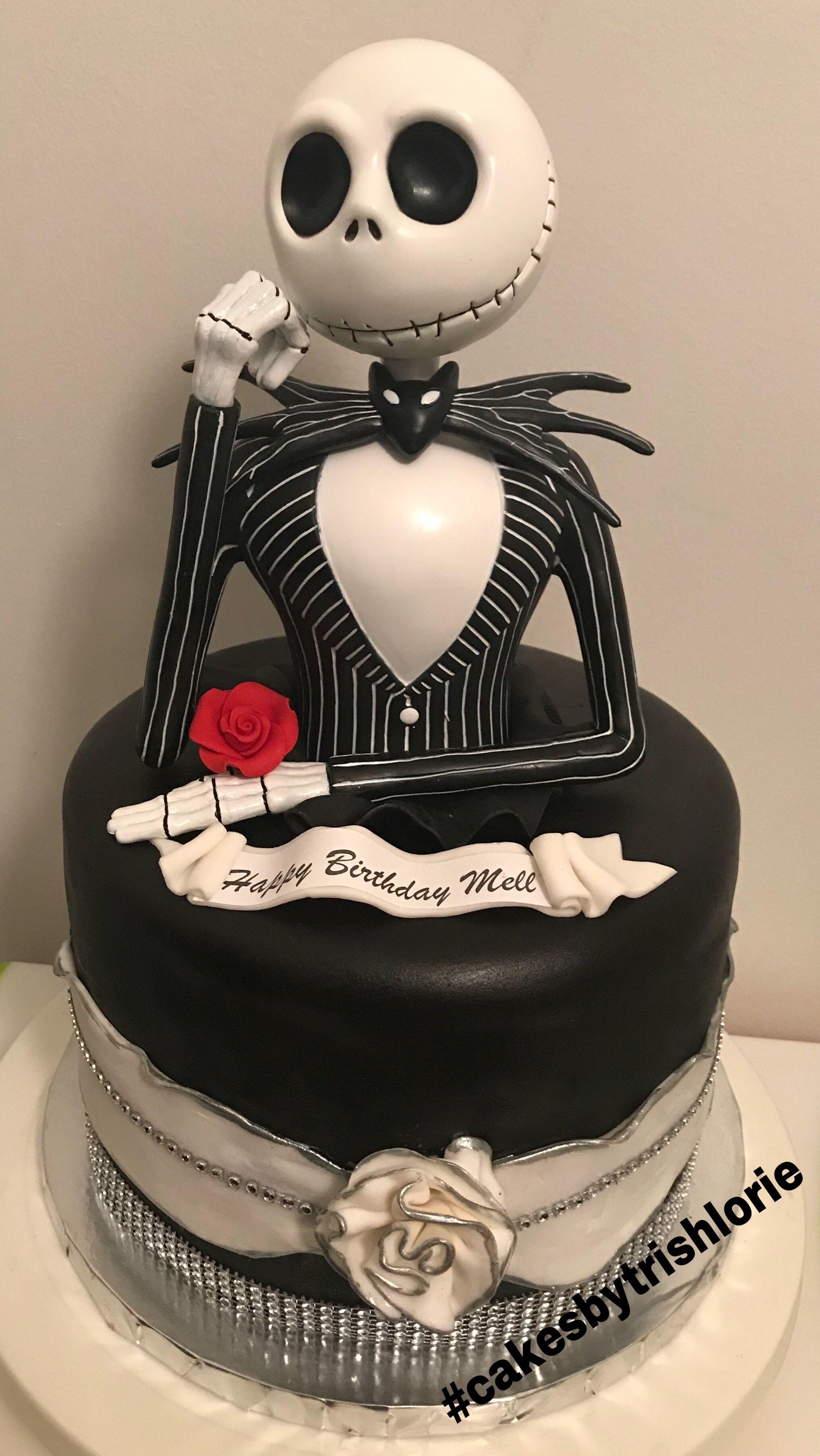 Jack Skellington Cake With Images Jack Skellington Cake Cake