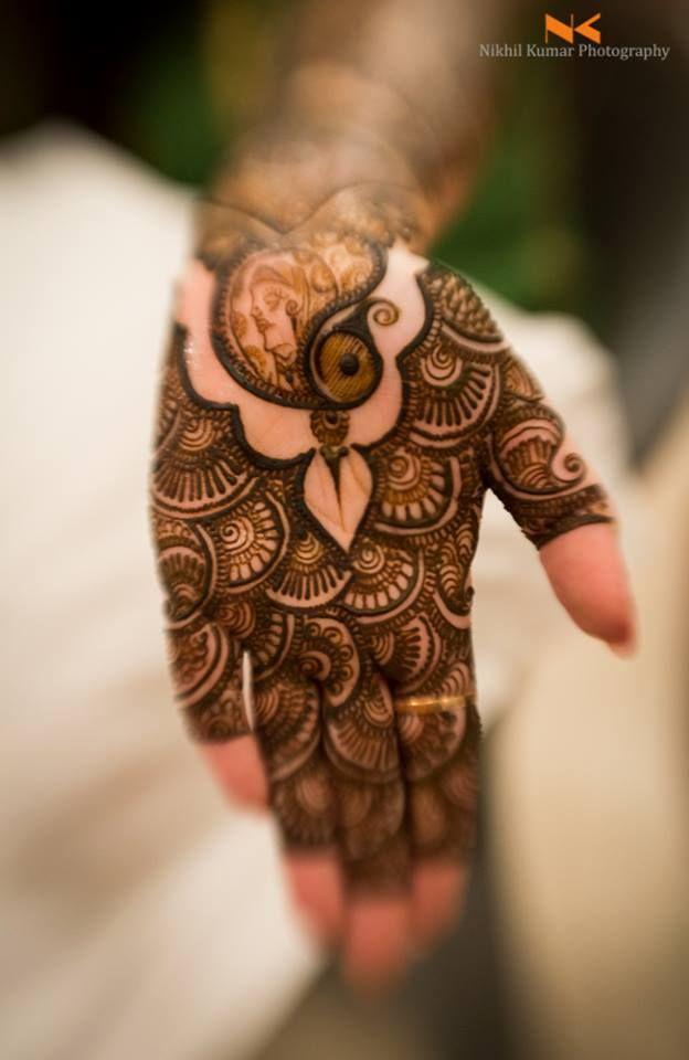 20 Beautful Henna Designs For Nikah: Beautiful Mehndi Design..Picture Courtesy : Nikhil Kumar
