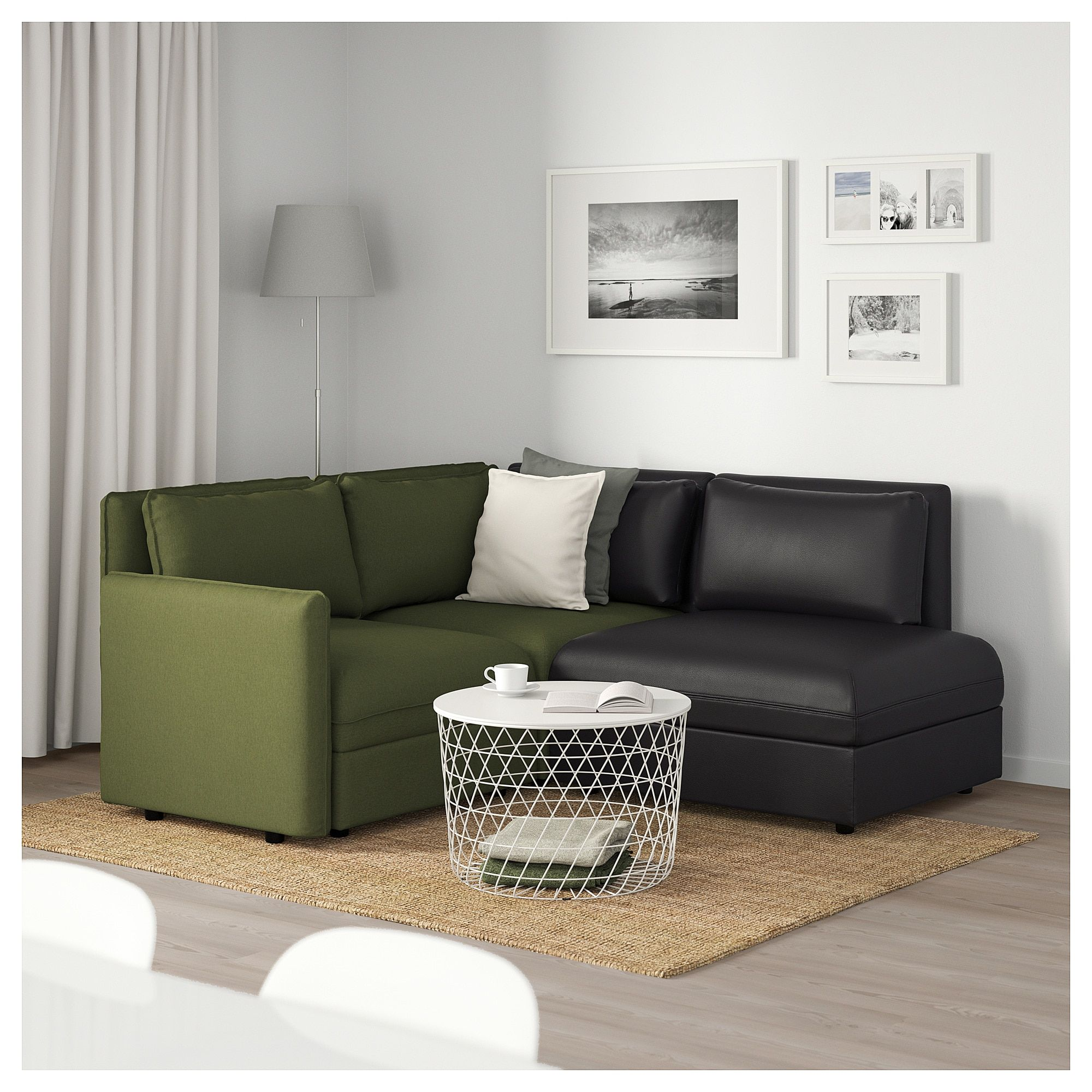 Miraculous Ikea Vallentuna Sectional 3 Seat With Storage Orrsta Unemploymentrelief Wooden Chair Designs For Living Room Unemploymentrelieforg