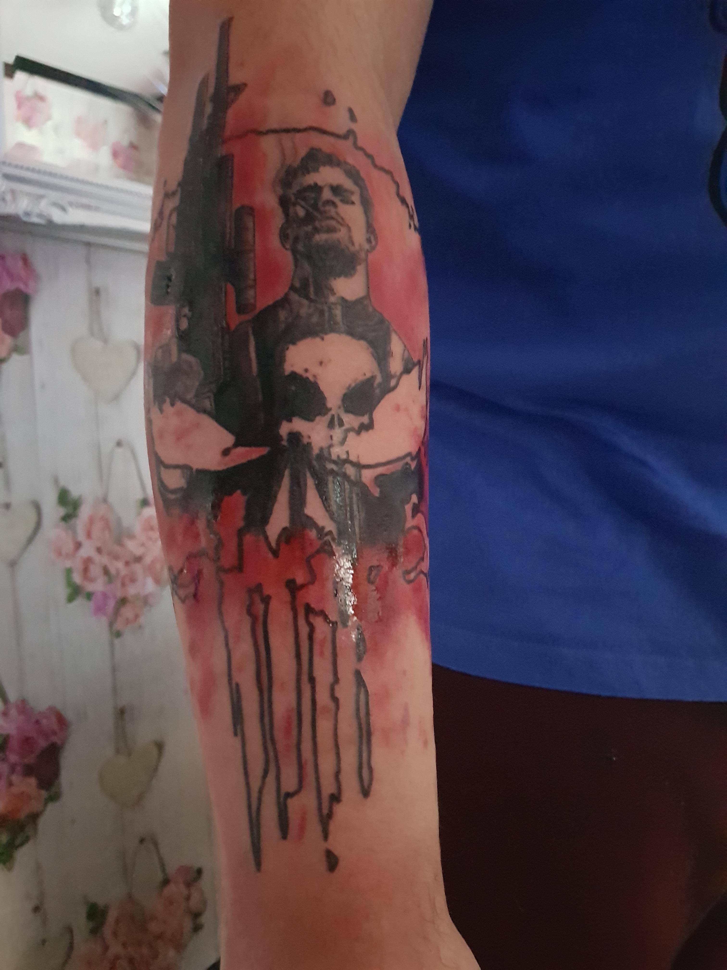 The punisher punisher tattoo punisher tattoos