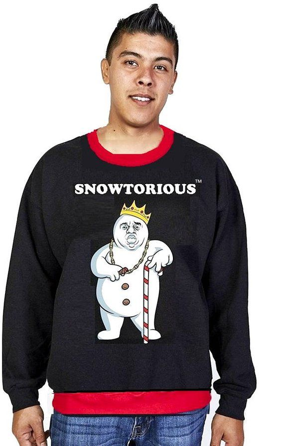 Snowtorious Limited Edition Ugly Christmas Sweater Funny
