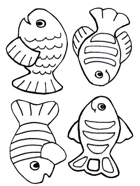 Free Creation Coloring Page Fish Creation Coloring Pages Fish Coloring Page Free Coloring Pages