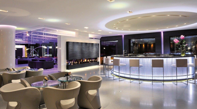 Lounge Bar Glow Geneva. After Work Hotel Président Wilson - Lounge ...
