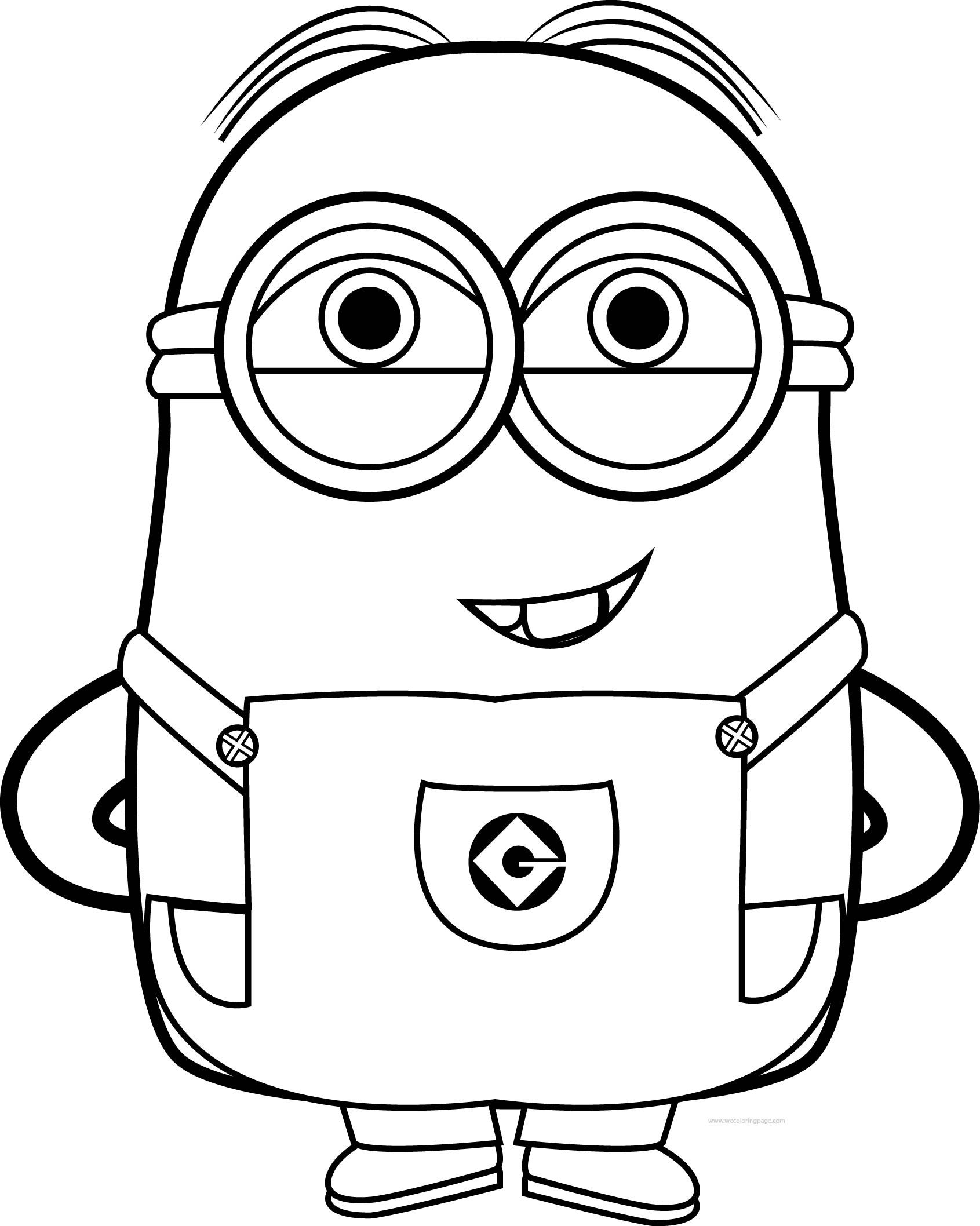 coloring pages minions angen - photo#44