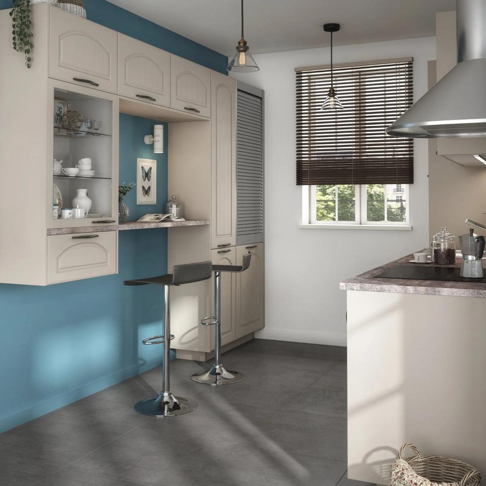 Une Cuisine Authentique Leroy Merlin En 2020 Porte Cuisine Idee Amenagement Cuisine Oleron