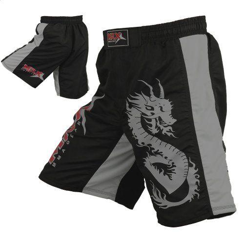 Extreme Hobby Men/'s Polska Grappling MMA Shorts Grey