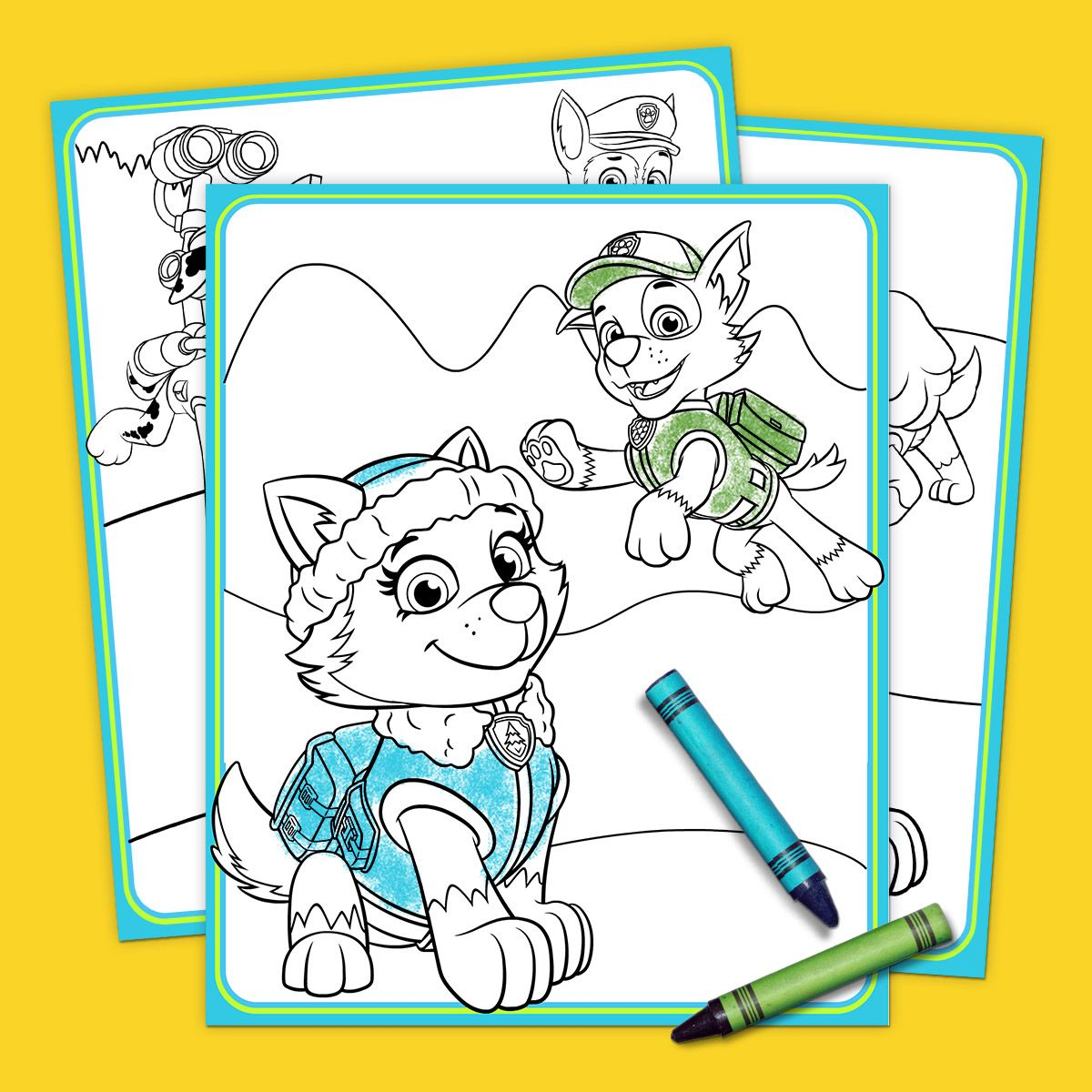 The Top 10 PAW Patrol Printables of All Time - Paw patrol printables, Paw patrol coloring, Paw patrol birthday, Paw patrol, Paw patrol party, Paw patrol coloring pages - If your preschooler loves PAW Patrol, you know that they can't get enough of those fantastic, fearless pups  PAW Patrol toys, PAW Patrol bedding, PAW Patro