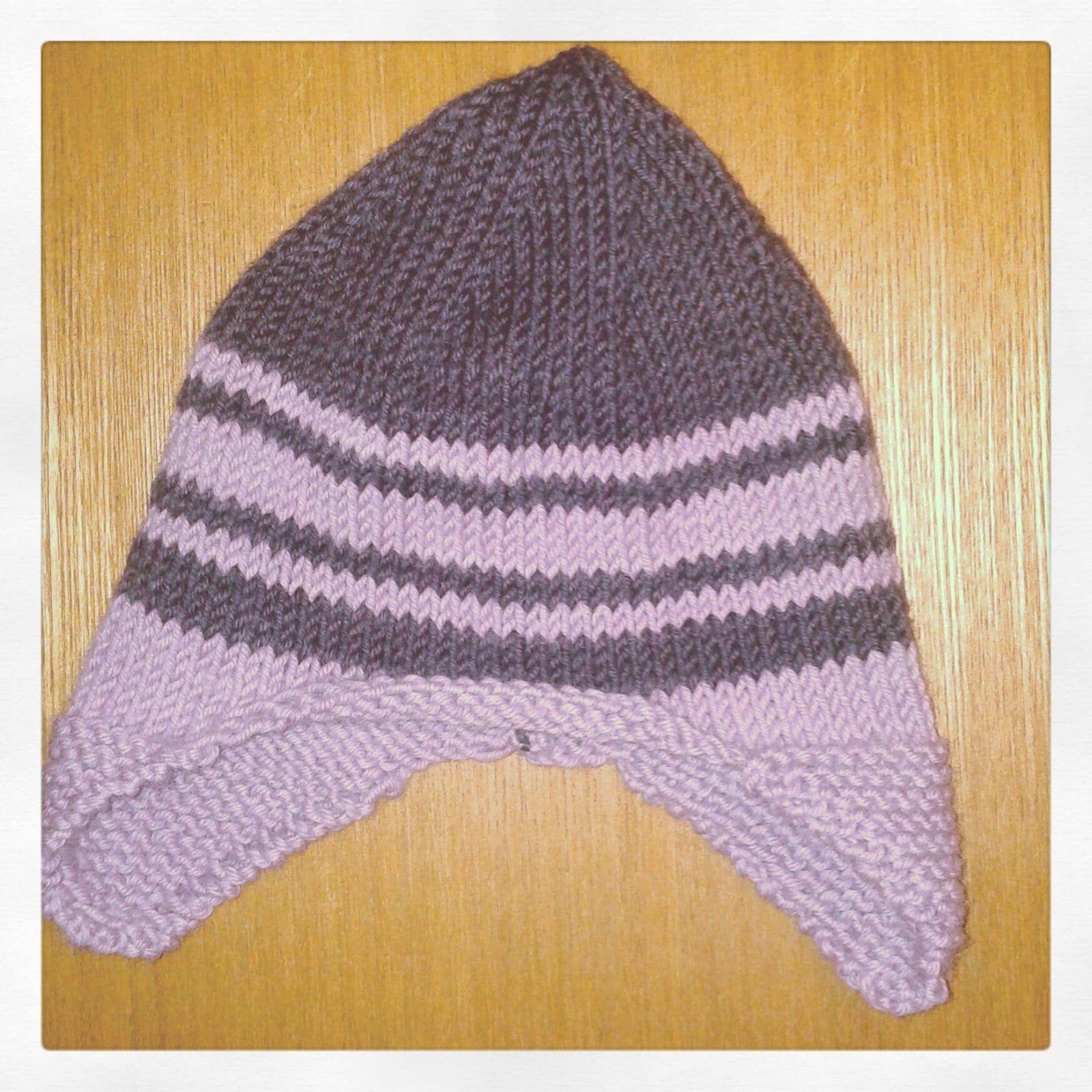 Bonnet en laine Fonty pour une petite fille