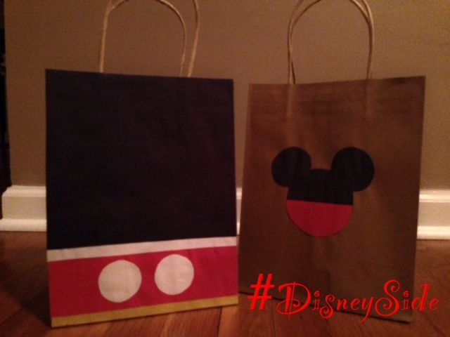 How do I show my #DisneySide - an afternoon of crafts, food & fun with friends.  Make your own #Disney animation studio and these goody bags.
