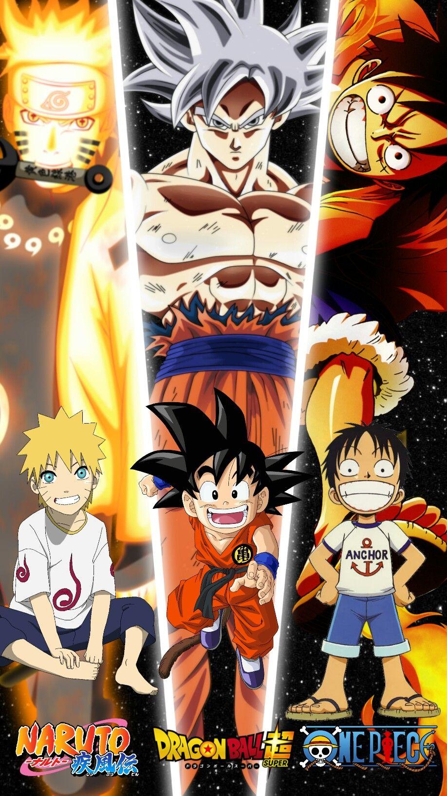 Naruto Goku Luffy Anime All Anime Characters Anime Dragon Ball