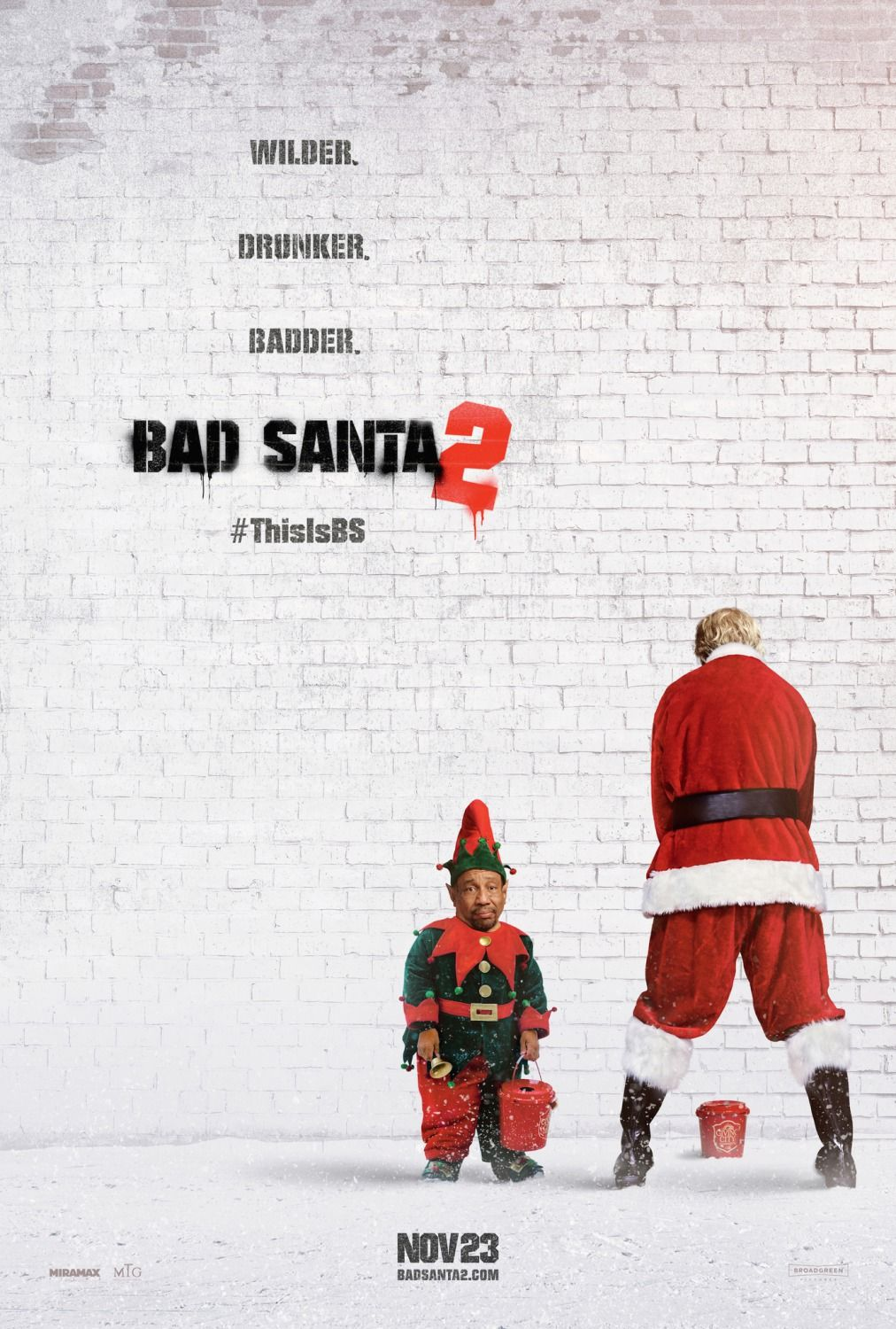 25+ Bad Santa 2 Free  Wallpapers