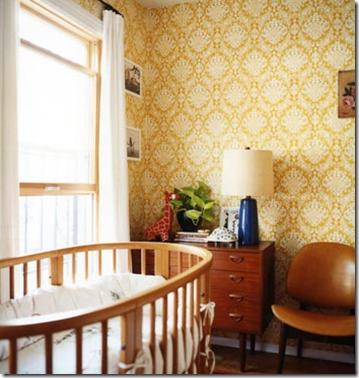 Casa de Valentina - via Flickr ohh food - quarto de bebê vintage