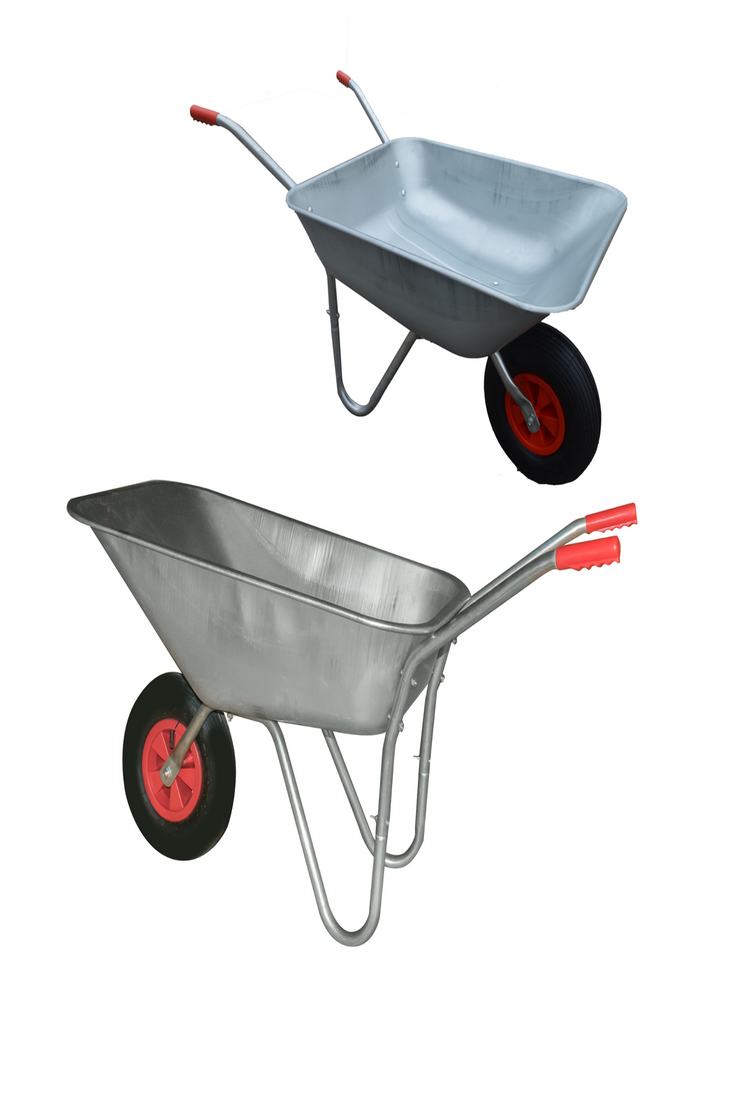 Details About Garden Outdoor Heavy Duty Wheelbarrow Galavanised Steel Pneumatic Tyre Diy Heavy Duty Wheelbarrow Wheelbarrow Outdoor Gardens
