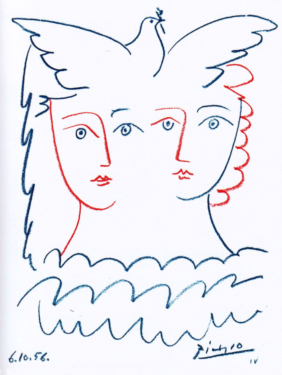Picasso ~ Peace #spanishthings