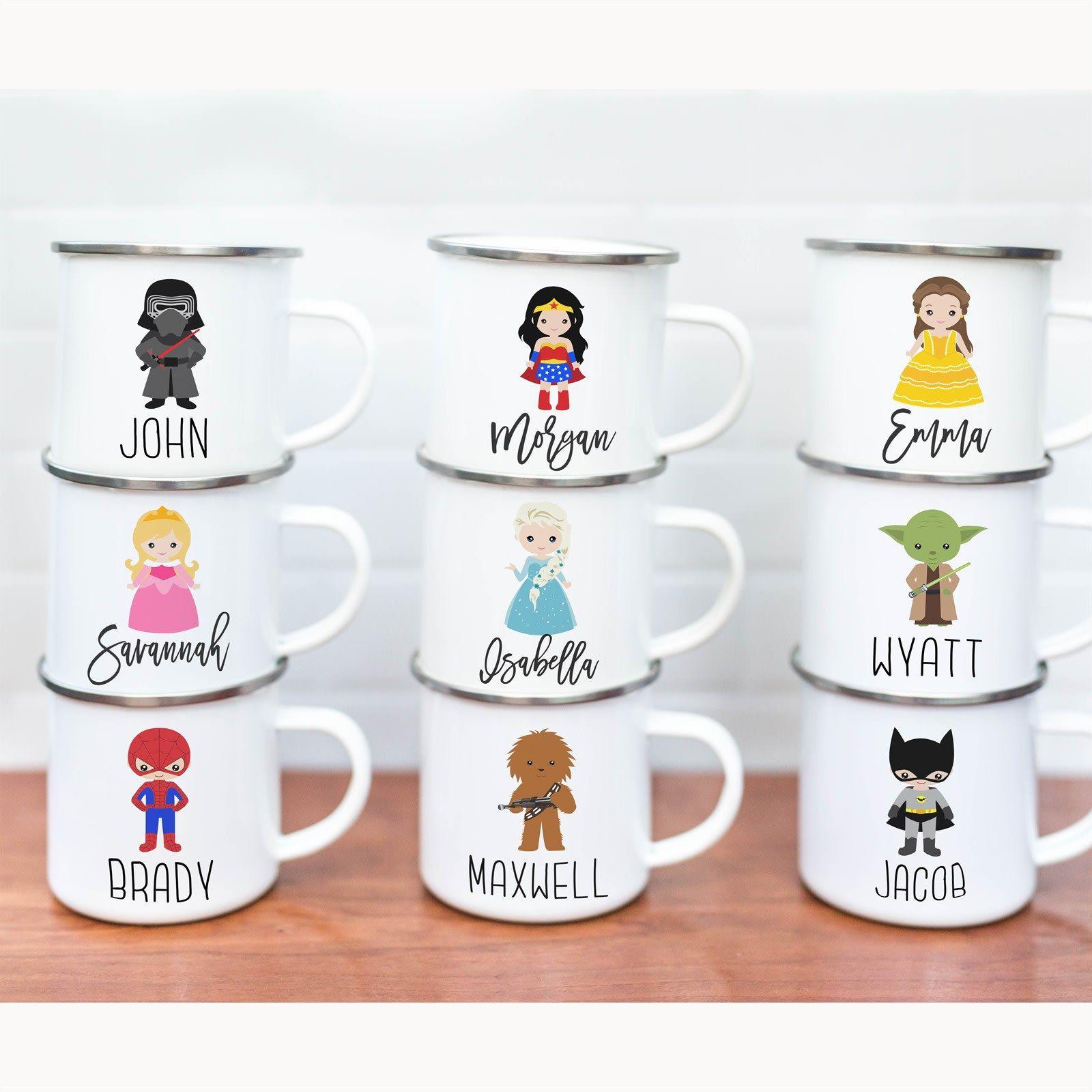 Personalized Kids Mugs 40 Designs