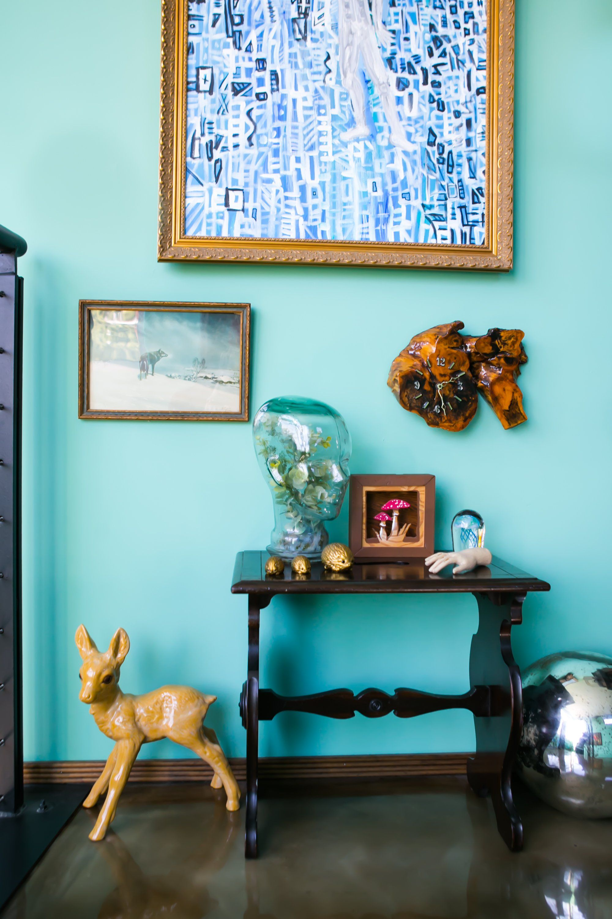 Paint colors that match this Apartment Therapy photo: SW 7700 Olde ...