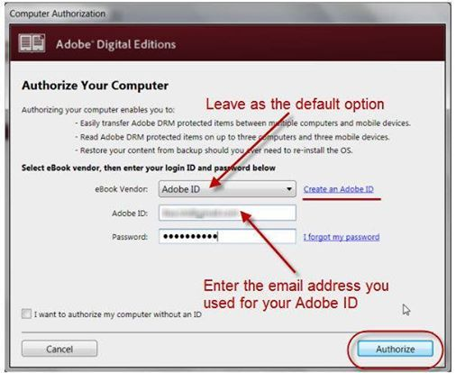 If you already have an Adobe ID, enter the email and the