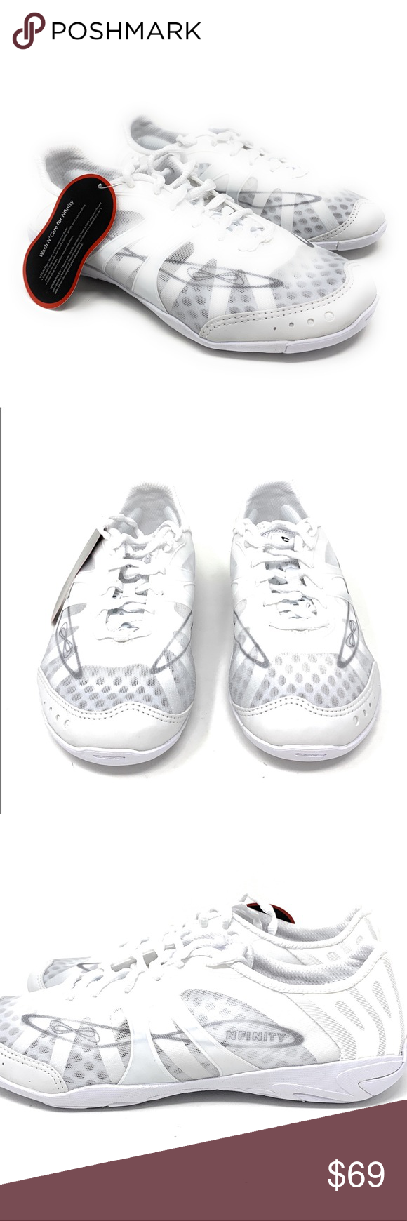 Nfinity Women S Vengeance Cheer Shoes Size 7 Nwt Cheer Shoes Nfinity Shoes Women