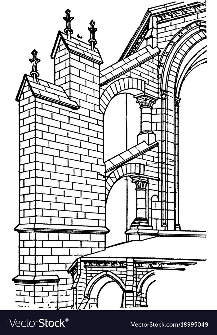 Image Result For Gothic Architecture Flying Buttress