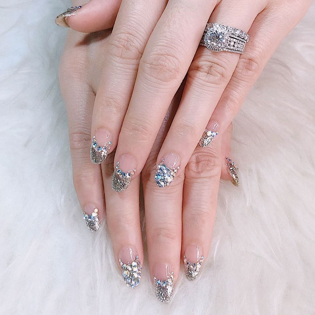 Jakarta Barat Appointment Only Ask Me For Menu And Price Wa Line 082176244058 With Owner Sindy Stu Japan Nail Art Gel Nail Art Wedding Nails