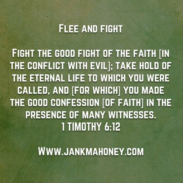FLEE AND FIGHT