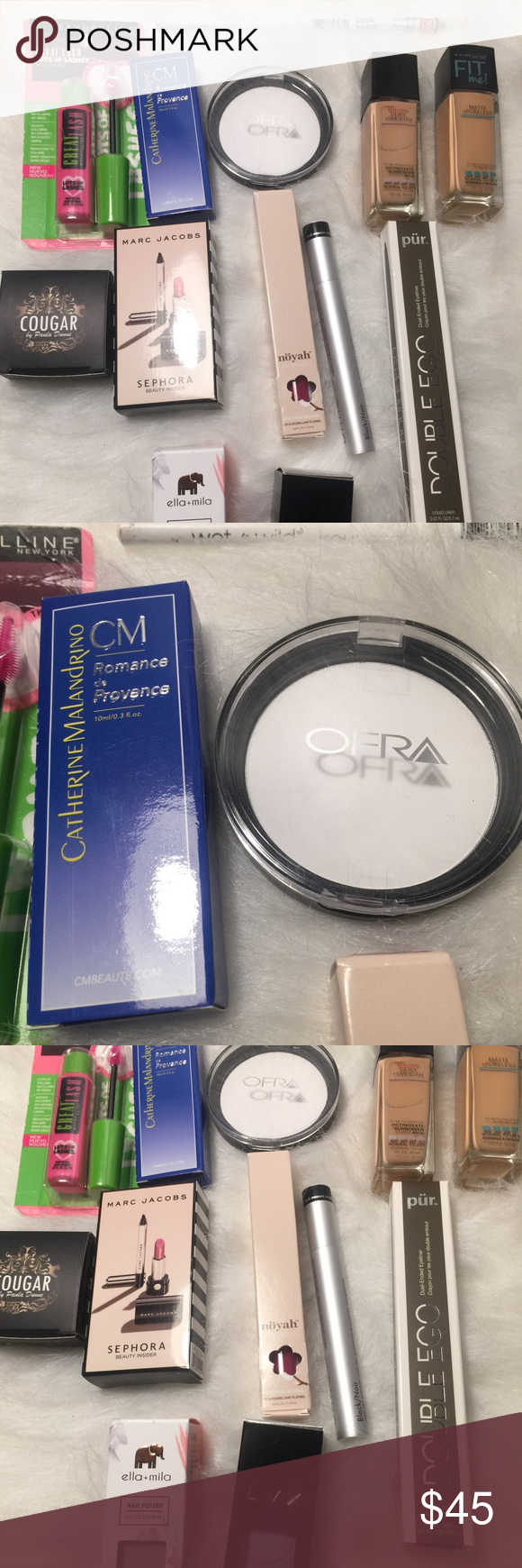 Makeup Bundle All Brand new except for blinc mascara was swatch once. Bundle is 80$ value Ofra Makeup