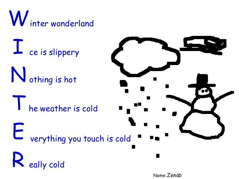 Freezing Rain: An Acrostic Poem | Freezing rain