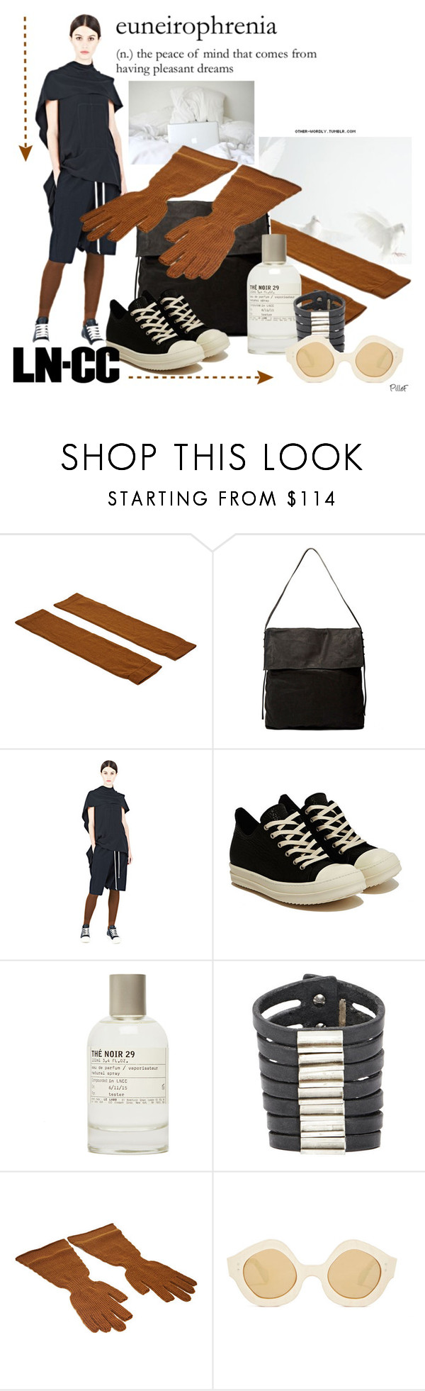 """""""✴︎ LN-CC ✴︎"""" by pillef ❤ liked on Polyvore featuring Rick Owens, Karl Lagerfeld and Maison Margiela"""
