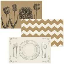 Paper Placemats By Kitchen Papers Wedding Ideas Pinterest Weddings Wedding Placemat And