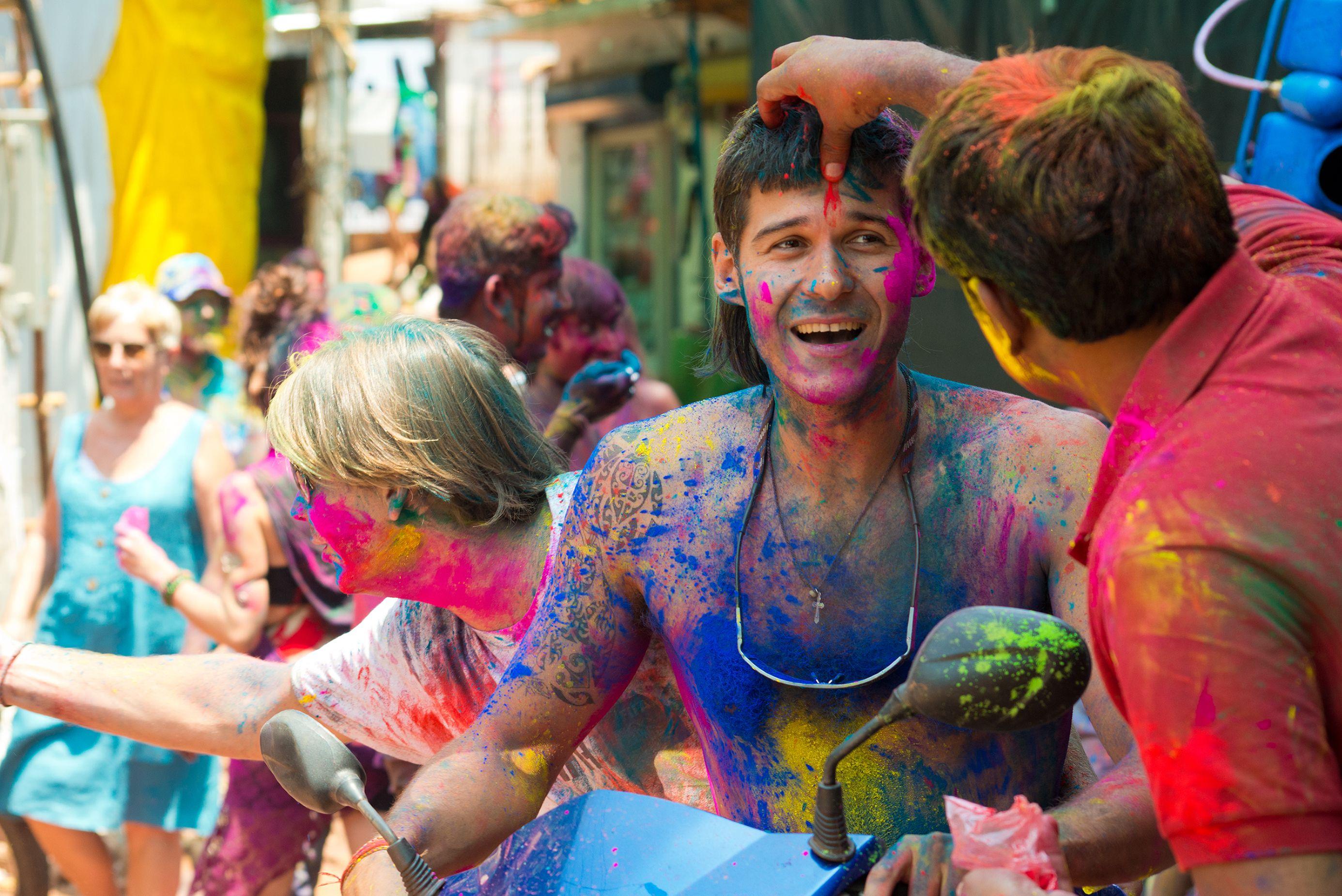 Image result for udaipur holi celebration