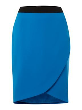 A stylish wrap pencil skirt is a great way to update your summer wardrobe from your standard pencil skirt.