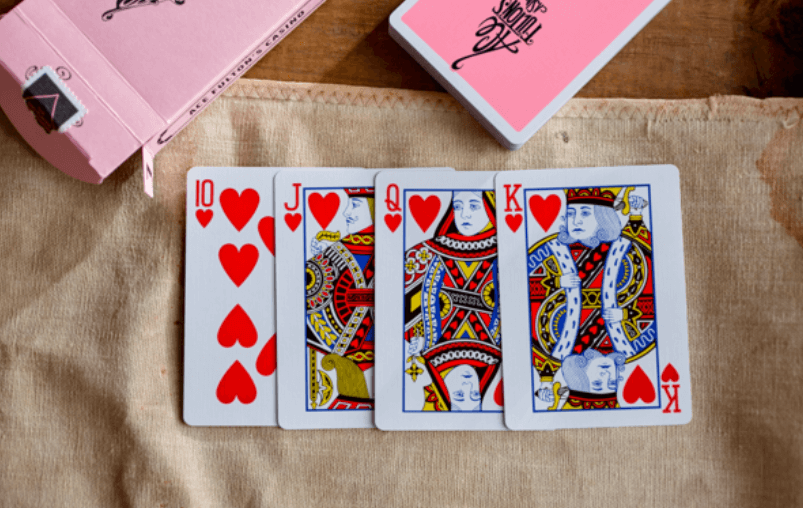 Ace Fulton's Casino Playing Cards Pink Edition Cards