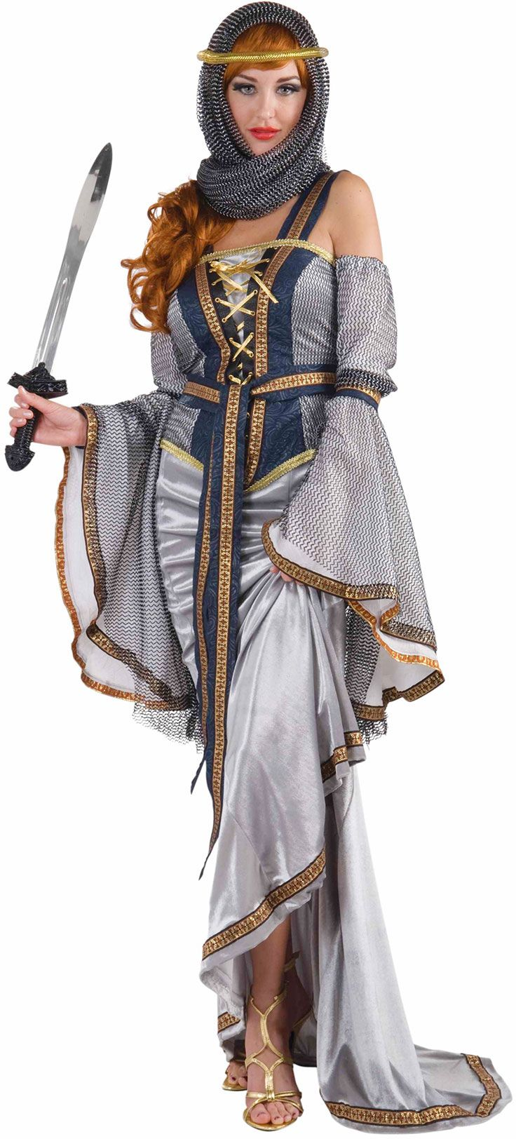 Noble Lady Costume Halloween fancy dress, Adult costumes