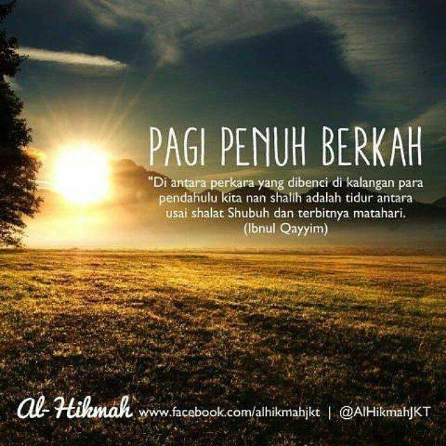 Quotes Ayat Hadits Di Instagram Pagi Semoga Penuh Berkah