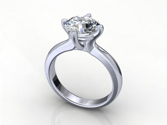 Digital Engagement Ring Jt15 By Piettrojewelry On Etsy