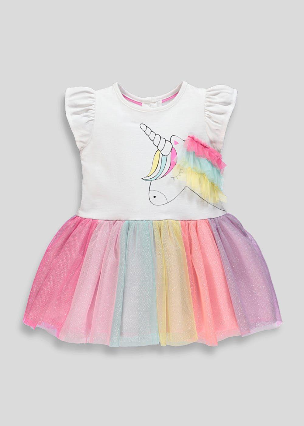 5ecd8b1d5fd25 Girls Unicorn Tutu Dress (9mths-6yrs) – Multi | Baby girls | Tutu ...