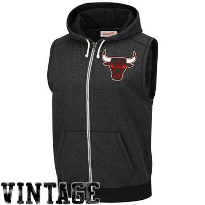 finest selection 12962 f69ed Mitchell & Ness Chicago #Bulls From Downtown Full Zip ...